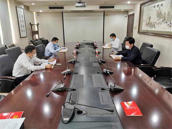 天津(jin)公司(si)黨委組織專(zhuan)題學習《中國共(gong)產黨國有企(qi)業基層組織工作條例(試行)》